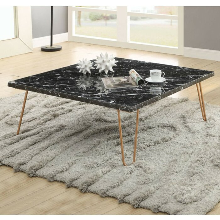 Robblee Marble Top Coffee Table