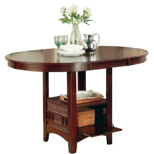 Norwalk Counter Height Extendable Dining Table Alcott Hill