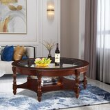 Levingston Coffee Table with Storage by Astoria Grand