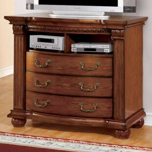 Enloe Media 3 Drawer Chest by Darby Home Co Modern