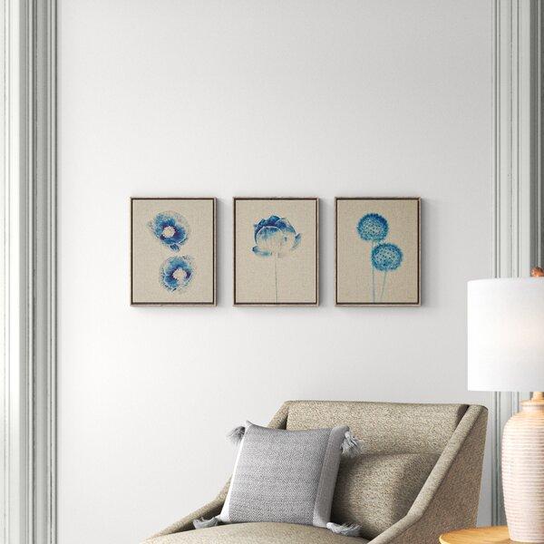 Framed Blue Botanical Prints Joss Main