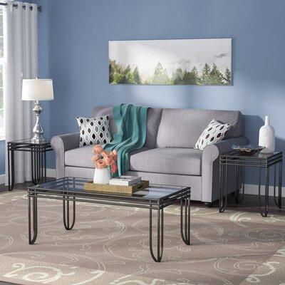 Myra 3 Piece Coffee Table Set & Loon Peak Jalen 3 Piece Coffee Table Set \u0026 Reviews | Wayfair