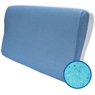 Arcadia Reversible Firm Memory Foam Bed Pillow