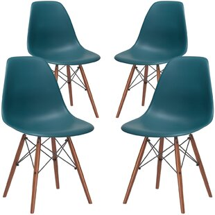 Acrylic Green Dining Chairs