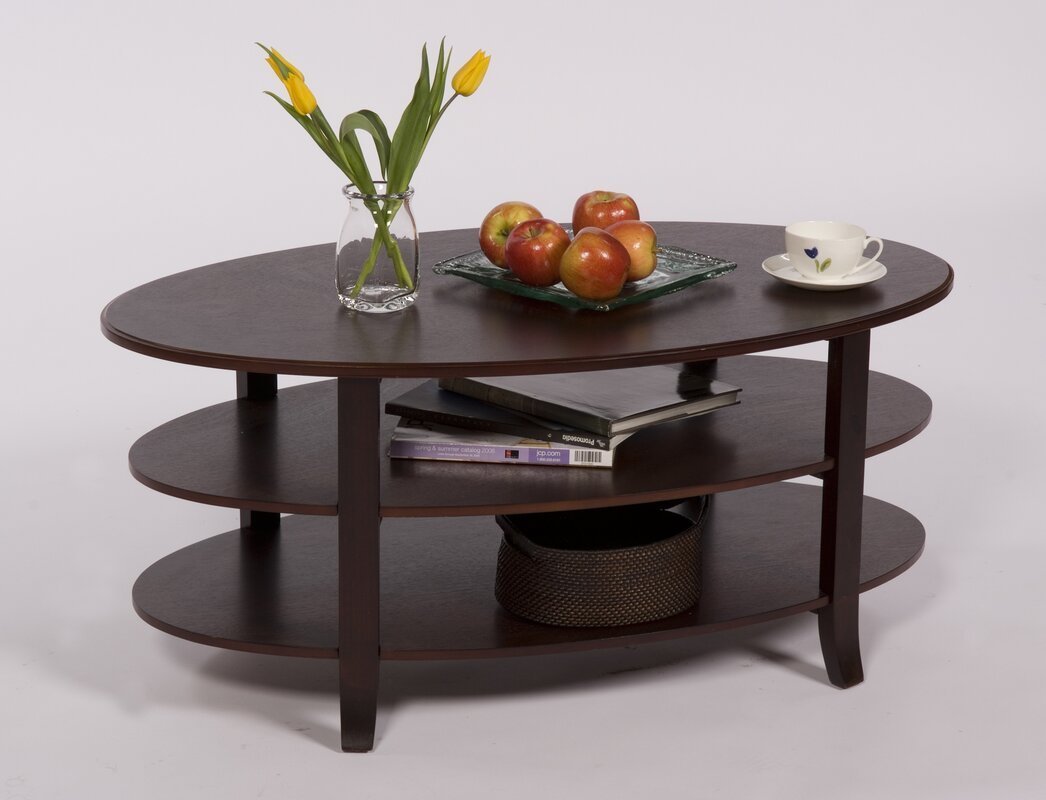 London 3 Tier Coffee Table