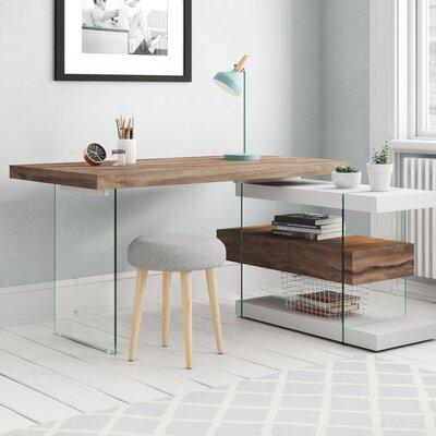 Chefschreibtisch Eatmon | Büro > Bürotische > Schreibtische | Ebern Designs