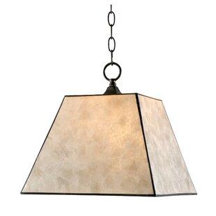 Barabo 1-Light Lantern Pendant by Loon Peak