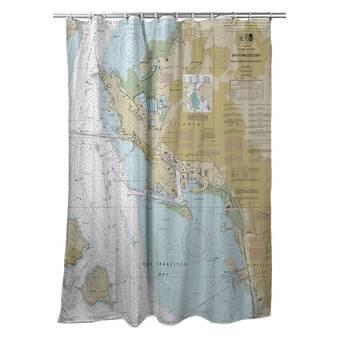 Wrought Studio Gina Single Shower Curtain Wayfair