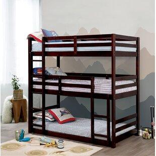 3 Tier Bunk Bed Wayfair Ca