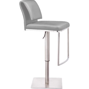 Neo Adjustable Height Swivel Bar Stool by..