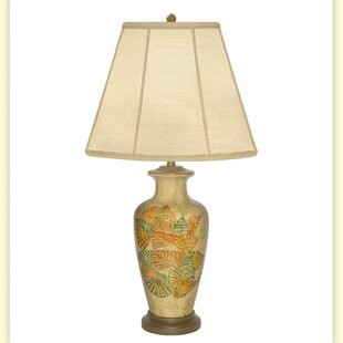 Conch Hand Painted Porcelain 31 Table Lamp