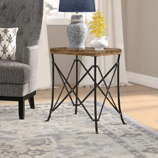 Crosson End Table by Fleur De Lis Living