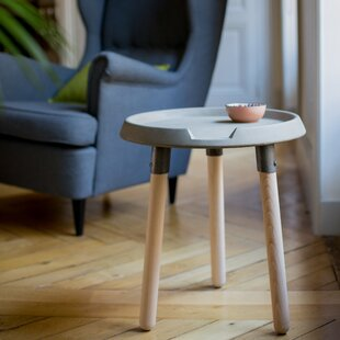 Affordable Mix End Table by Lyon Beton