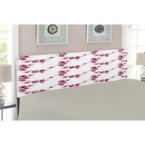 Asian Upholstered Panel Headboard by East Urban Home