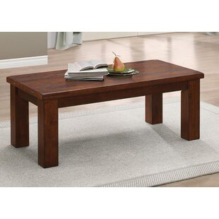 Jamir Rubber Wood Coffee Table