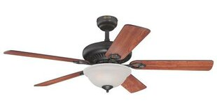52 Fairview 5 Reversible Blade Ceiling Fan with Remote Control By Westinghouse Lighting Ceiling Lights