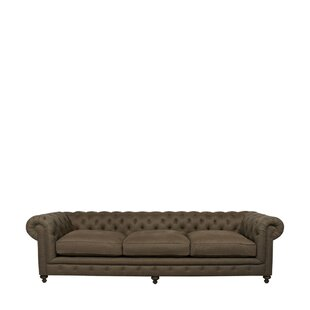 Cigar Chesterfield Sofa