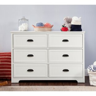 Charlie Homestead 6 Drawer Double Dresser by DaVinci