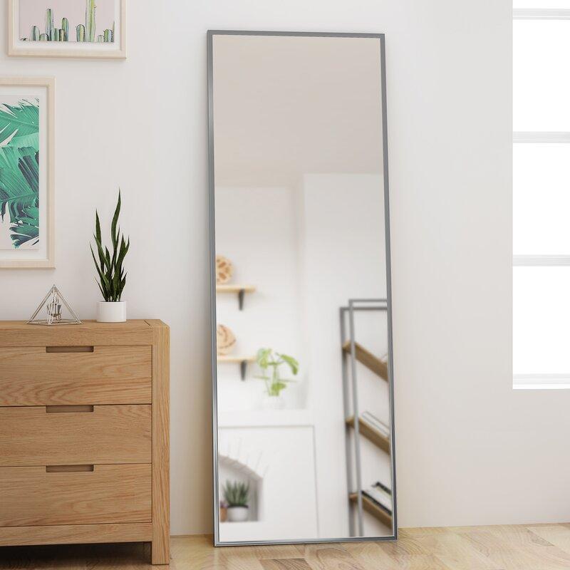 Abshire Modern & Contemporary Rectangular Full Length Mirror