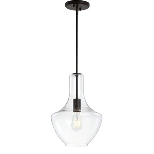 Wrought Studio Raymonde 1-Light Schoolhou..