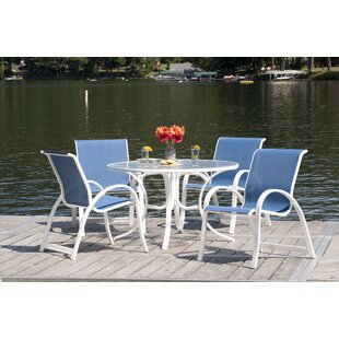 Rosecliff Heights Cuccia 5 Piece Dining Set