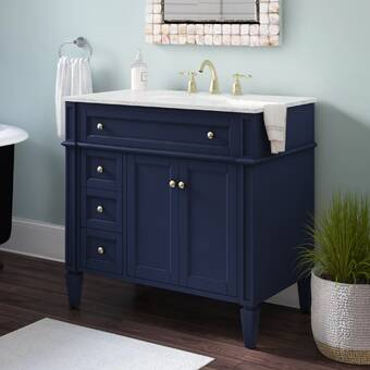 Darby Home Co Riccardo 36 Single Bathroom Vanity Set Reviews Wayfair