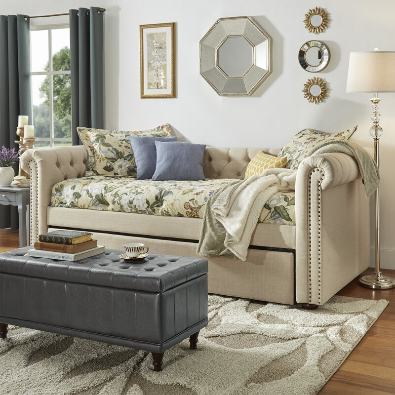 New Britain Daybed with Trundle - Three Posts New Britain Daybed With Trundle & Reviews Wayfair