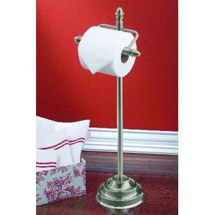 Stockton Free Standing Toilet Paper Holder by Moen