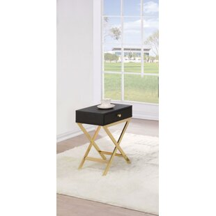 Durlston End Table with Storage