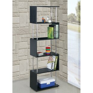 Adrianna Geometric Bookcase by Orren Ellis