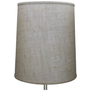 15 Burlap Drum Lamp Shade