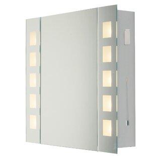Review Dulin 65cm X 60cm Surface Mount Mirror Cabinet