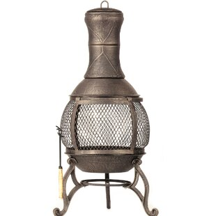DeckMate Corona Cast iron Wood Burning Ch..