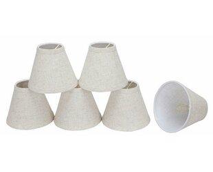 6 Linen Empire Candelabra Shade (Set of 6)