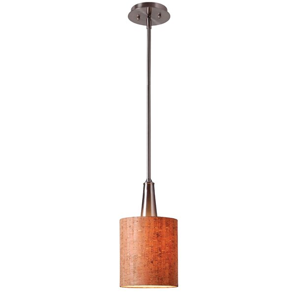Allmodern 1 Light Single Cylinder Pendant Reviews Wayfair