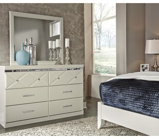 Willa Arlo Interiors Wylie 6 Drawer Doubl..