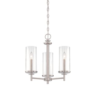 Designers Fountain Harlowe 3-Light Shaded Chandelier