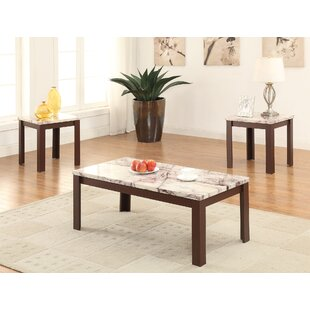 Savings Carly 3 Piece Coffee Table Set by A&J Homes Studio