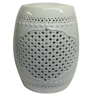 Petrin Pierced Porcelain Garden Stool