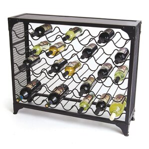Zachary 35 Bottle Floor Wine Rack by Trent Austin Design