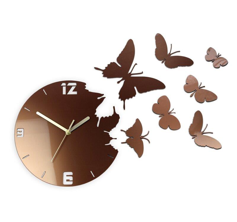 Zipcode Design Bureen 28cm Silent Wall Clock Reviews Wayfair Co Uk