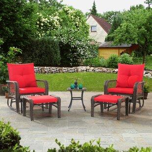 Maksian 5 Piece Conversation Set with Cushions