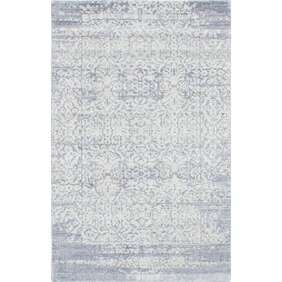 Reviews Agustina Hand-Knotted Gray/White Area Rug By Isabelline