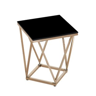 Mote End Table by Wrought Studio