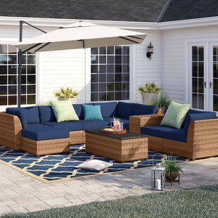 Waterbury 10 Piece Sectional Seating Group with Cushions