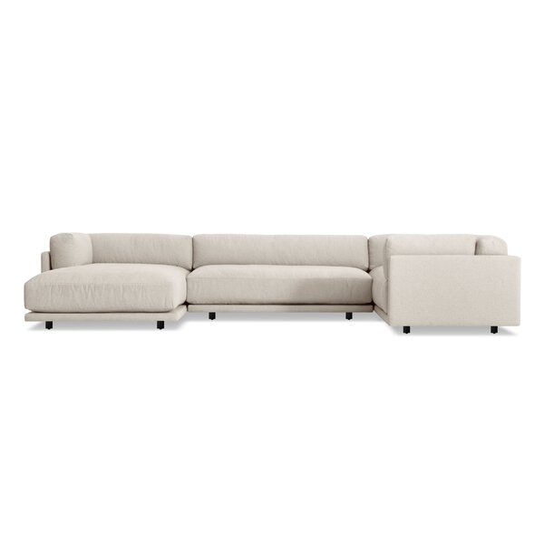 Modern & Contemporary Down Filled Sectional Sofas | AllModern