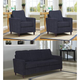 Compare Amall 3 Piece Living Room Set by Ebern Designs Reviews (2019) & Buyer's Guide
