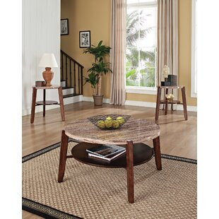 Bay Isle Home Converse 3 Piece Coffee Table Set