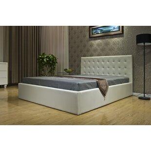 Greatime Upholstered Storage Platform Bed