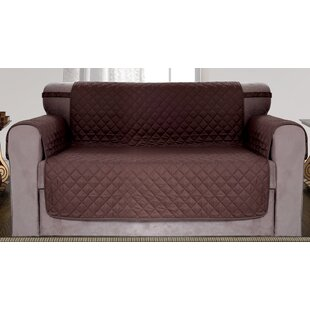 Diamond Quilted Reversible Loveseat Slipcover By Red Barrel Studio